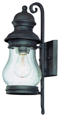 Troy-CSL Lighting B1881HPB Hyannis Port 1-Light Outdoor ...