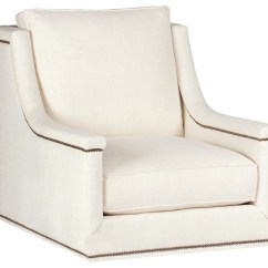 Comfortable Swivel Chair Orange Leather Gabby Liam Capped Arm Transitional Armchairs And Accent Chairs By