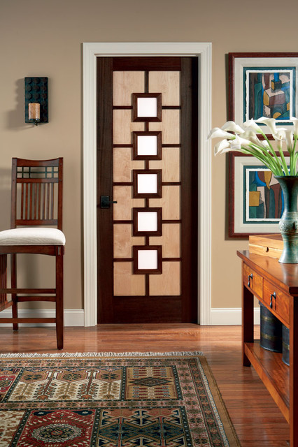 Art Deco door  Modern  Interior Doors  by TruStile Doors