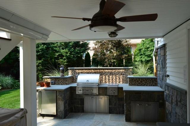 NJ Outdoor Kitchen Design  Contemporary  Patio  New