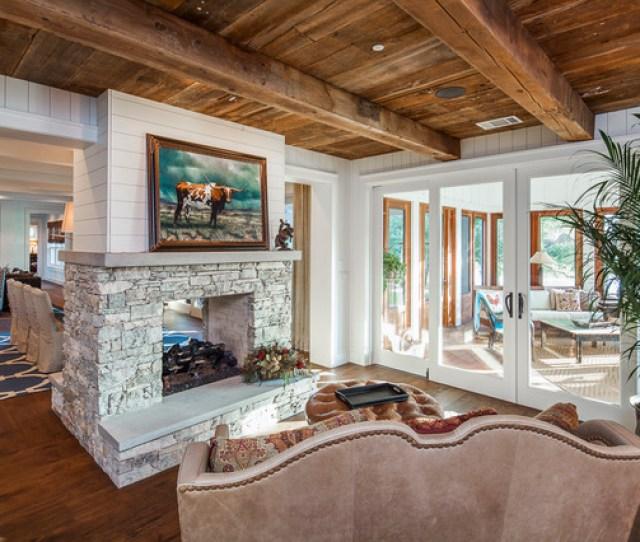 Elegant Farmhouse Farmhouse Living Room