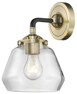 Fulton 1 Lightsconce With Vintage Bulb Transitional