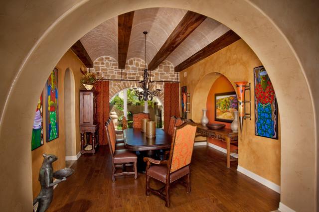 Tuscan Style Home By Jim Boles Custom Homes Mediterranean