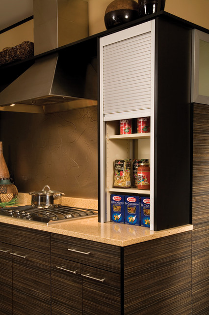 kitchen cabinet sets for sale cabinets color combination straight appliance garage metal tambour - modern ...