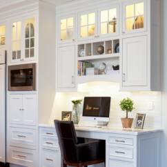 Kitchen Desk Teak Chairs 8 And Nook Designs To Keep Your Family Organized