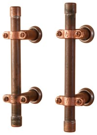 Industrial Copper Cabinet Handle - Industrial - Cabinet ...