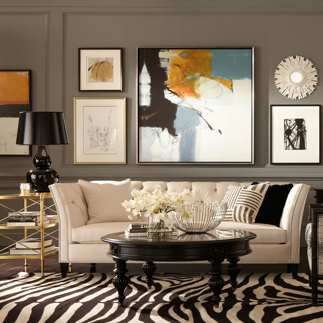 chadwick sofa raleigh dwr review ethan allen design - eclectic living room other by ...