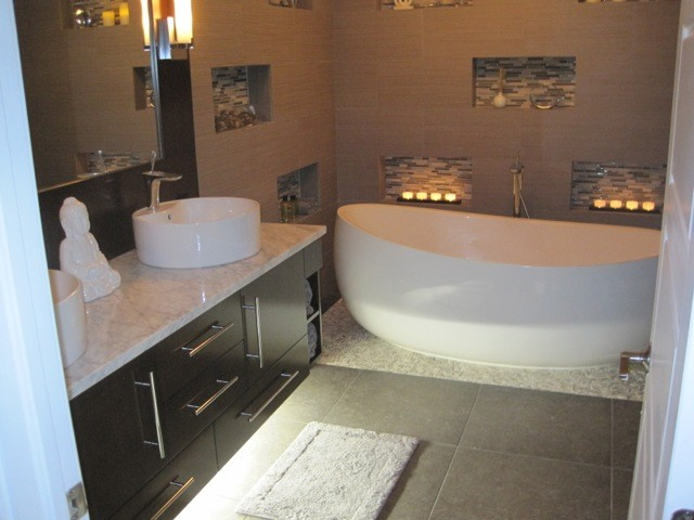 Zen Master Bathroom  Contemporary  Bathroom  Miami  by