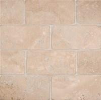Tilesbay 3X6 Tumbled Durango Cream Travertine Tile - Wall ...