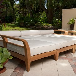 Sectional Sofas Orange County Ca Soho Leather Aman Dais Teak Patio Daybed - Contemporary ...