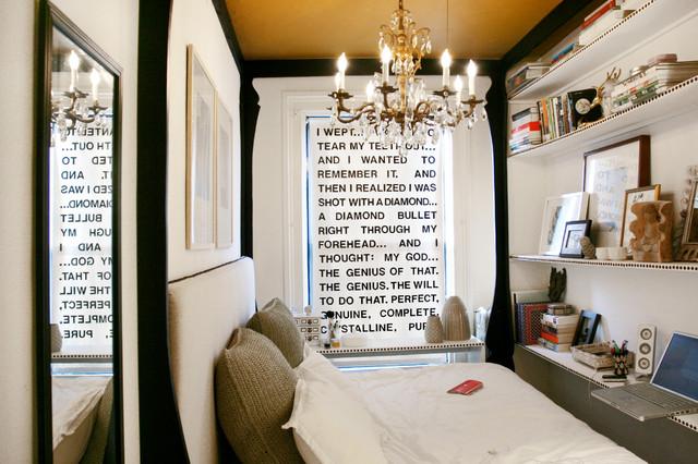 tiny bedroom - shabby-chic style - bedroom - new york - by jen chu
