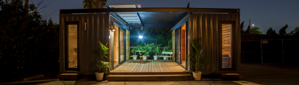 New Old Stock Off Grid Shipping Container Dwellings