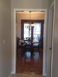 Adding trim to open doorways?