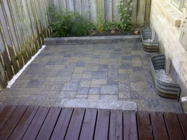condo patio - contemporary
