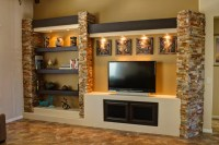 Media Wall 3 - Contemporary - Family Room - Phoenix - by ...
