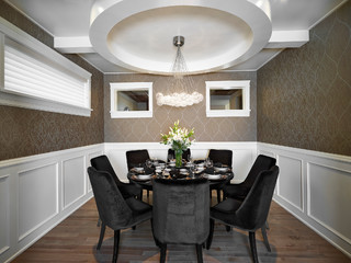 Photo By InfinitiR Master Builder Inc Look For Transitional Dining Room Design Inspiration