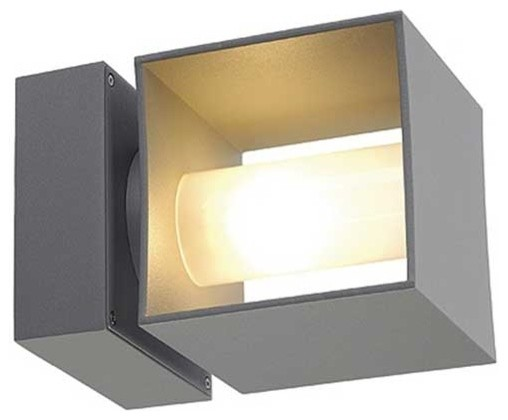 Square Turn Outdoor Wall Sconce modern