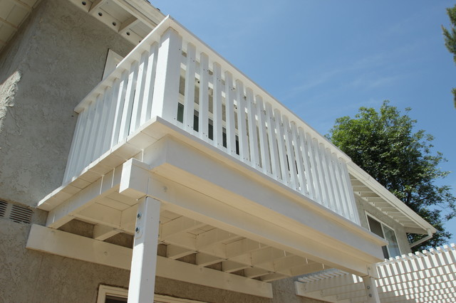 photos wood lattice patio cover and wood balcony contemporary los angeles