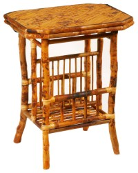 Octagon Magazine Table - Tropical - Side Tables And End ...