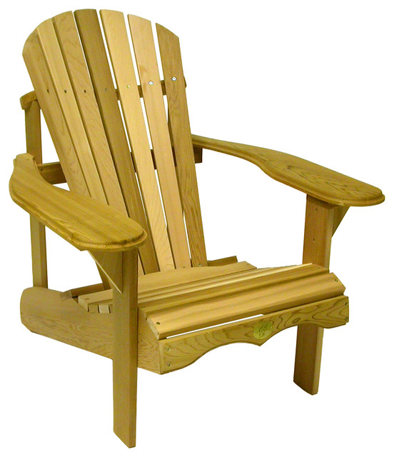 adirondack chair kit covers for hire cape town bear red cedar traditional chairs by al decloe