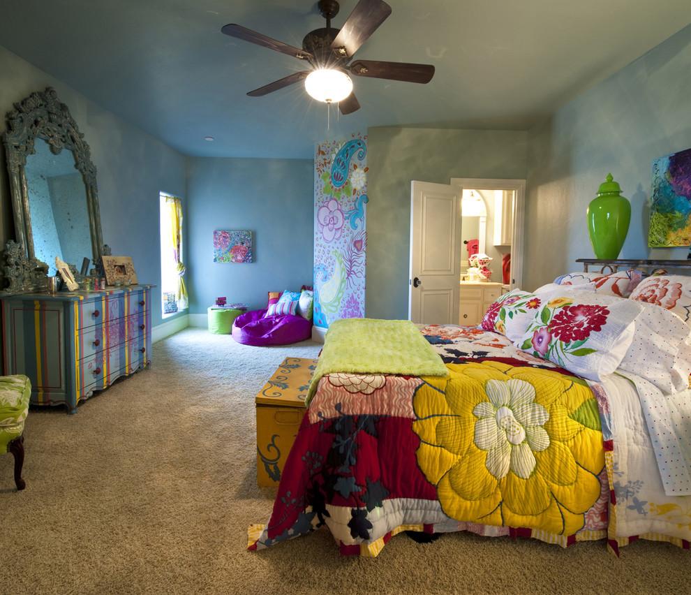 Gaillardia Show Home Eclectic Bedroom Oklahoma City By Rick Hoge