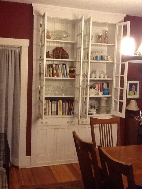 What To Do With Beautiful Built In China Cabinet In Dining