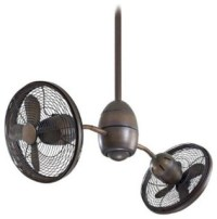 Minka-Aire Gyrette Ceiling Fan - Restoration Bronze ...