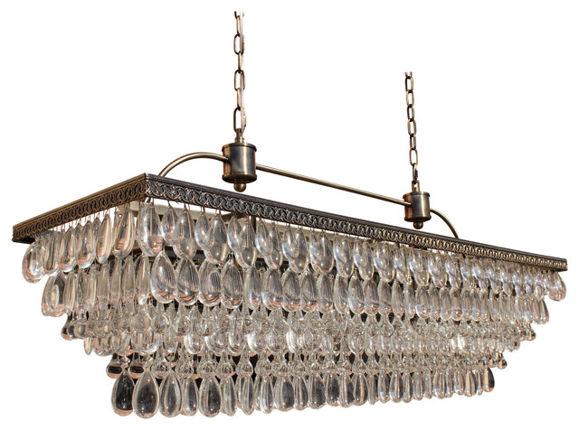 Source Rectangular Chandeliers Houzz