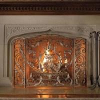 Avignon Estate-Size Fireplace Screen - Traditional ...