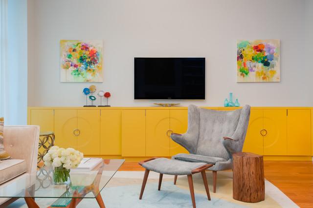 Brooklyn Heights clasico-renovado-salon