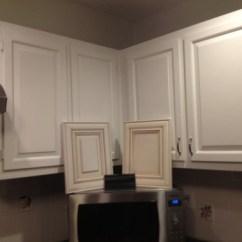 Glazed Kitchen Cabinets Open Help! Are Cream Ok With White Trim?