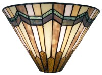 Tiffany Style Arrow Head Wall Sconce - Craftsman - Wall ...