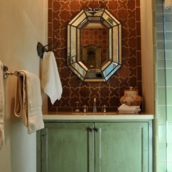 Kitchen And Bath Showrooms Cart Ikea Spanish Style Home - Traditional Bathroom San ...