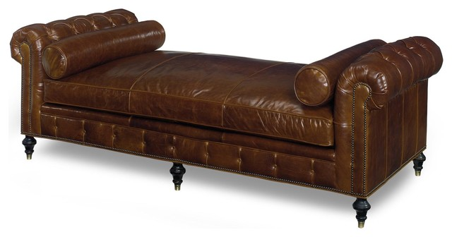 Chesterfield Daybed Chaise Longue Traditional Daybeds