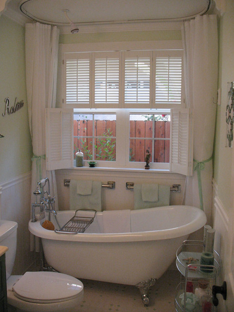 Bathroom Bathtub  Traditional  Bathroom  Kansas City  by Horizon Interior Shutters