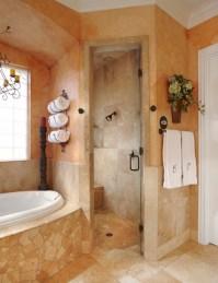 Keller Tx bathroom remodel project - Mediterranean ...