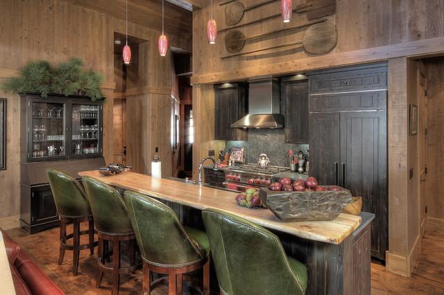 Martis Camp Lake Tahoe Rustic Kitchen Phoenix By Studio V
