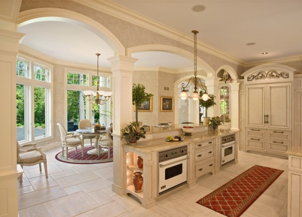 french colonial kitchen design French Colonial Style Kitchen - Mediterranean - Kitchen - Philadelphia - by Colonial Craft