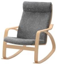 Pong Rocking Chair, Lockarp Gray - Scandinavian - Rocking ...