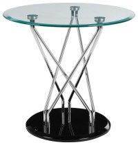 Halo Round Side Table - Industrial - Side Tables & End ...