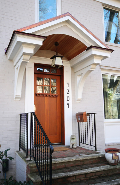 Portico  Traditional  Entry  DC Metro  by Robert Nehrebecky AIA ReNew Architecture