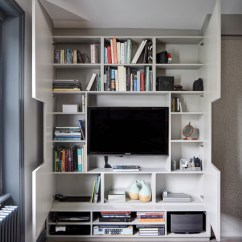 How To Decorate Living Room Wall Shelves Simple False Ceiling Designs For Photos 10 Clever Ways Store More With