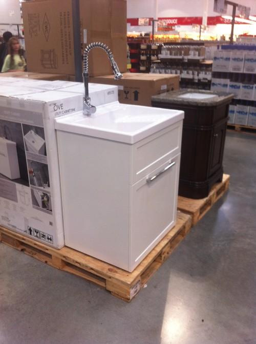 water heater alarm utility sink costco