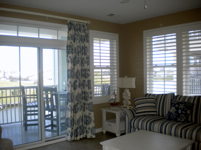 Beach House Window Treatments McFeely Window Fashions