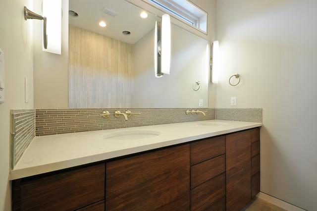 Bamboo Bathroom Ideas  Modern  Bathroom  Austin  by Bamboo Crew Custom Cabinets and Countertops