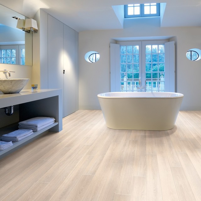 AquaStep Montana Oak Waterproof Flooring  Contemporary  Bathroom  Other  by LF Direct