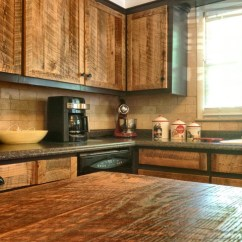 Island Tables For Kitchen Farm Cabinet Doors - Rustic Atlanta By The Rusted ...