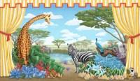 Safari Mural - Tropical - Nursery Decor - New York - by ...