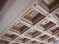 Renaissance coffered ceiling