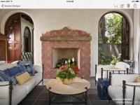 Spanish Tile Fireplace Surround